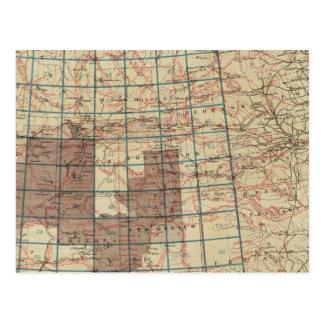 Encuestas sobre geográficas Estados Unidos Postales