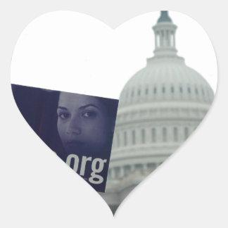 End Abortion Heart Sticker