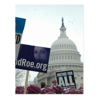 End Abortion Postcard