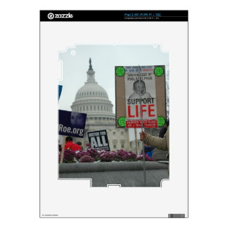 End Abortion Decal For iPad 2