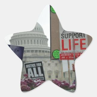 End Abortion Star Sticker
