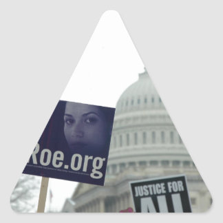 End Abortion Triangle Sticker