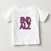End Alz Alzheimer's Awareness Month Purple Gifts Baby T-Shirt