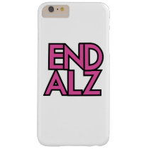 End Alz Alzheimer's Awareness Month Purple Gifts Barely There iPhone 6 Plus Case
