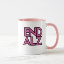 End Alz Alzheimer's Awareness Month Purple Gifts Mug