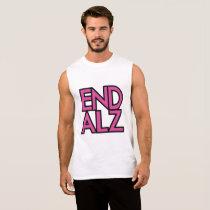 End Alz Alzheimer's Awareness Month Purple Gifts Sleeveless Shirt