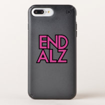 End Alz Alzheimer's Awareness Month Purple Gifts Speck iPhone Case