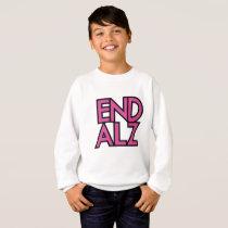 End Alz Alzheimer's Awareness Month Purple Gifts Sweatshirt