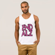 End Alz Alzheimer's Awareness Month Purple Gifts Tank Top