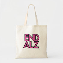 End Alz Alzheimer's Awareness Month Purple Gifts Tote Bag
