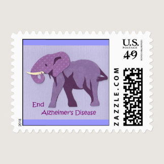 End Alzheimers Postage