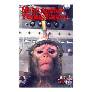 End Animal Testing Flyer
