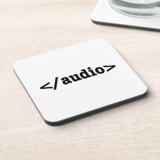 End Audio HTML5 Code Coaster