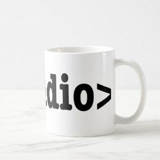 End Audio HTML5 Code Coffee Mug