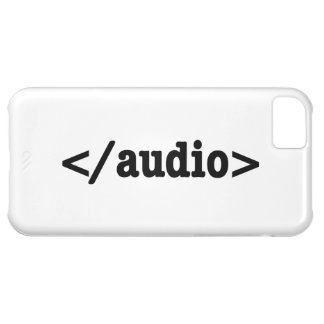 End Audio HTML5 Code Cover For iPhone 5C