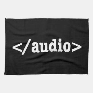 End Audio HTML5 Code Hand Towel