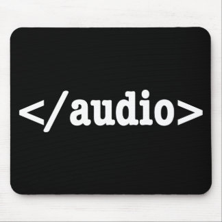 End Audio HTML5 Code Mouse Pad