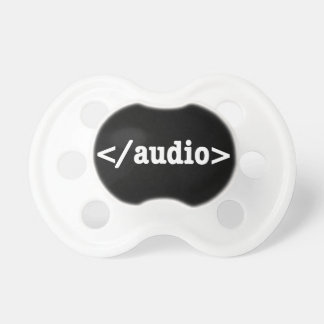 End Audio HTML5 Code Pacifier