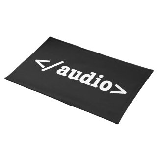 End Audio HTML5 Code Placemat