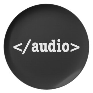 End Audio HTML5 Code Plate