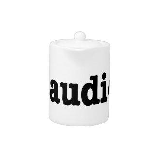 End Audio HTML5 Code Teapot