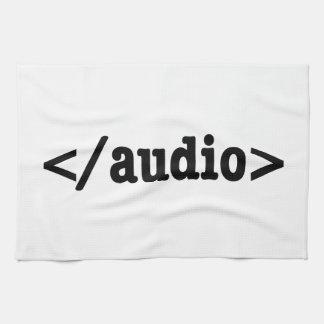 End Audio HTML5 Code Towel
