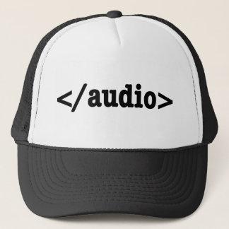 End Audio HTML5 Code Trucker Hat
