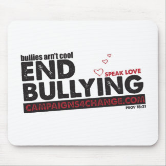 END BULLYING MOUSE PAD