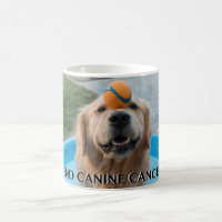 End Canine cancer mug