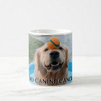End Canine cancer mug