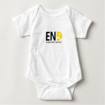 End Childhood Cancer Baby Bodysuit