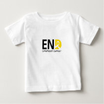 End Childhood Cancer Baby T-Shirt