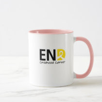 End Childhood Cancer Mug