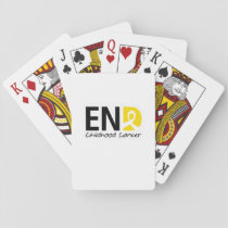 End Childhood Cancer Playing Cards
