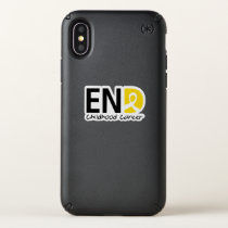 End Childhood Cancer Speck iPhone X Case