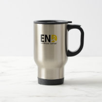 End Childhood Cancer Travel Mug