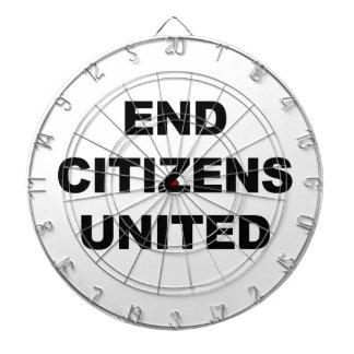 End Citizens United Dartboard