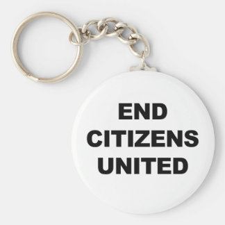 End Citizens United Keychain
