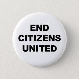 End Citizens United Pinback Button