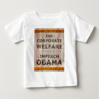End Corporate Welfare Baby T-Shirt
