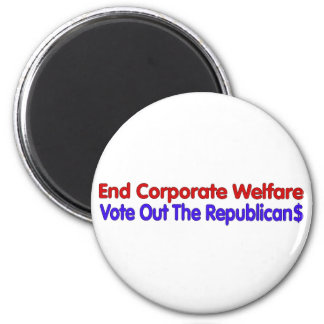 END CORPORATE WELFARE MAGNET