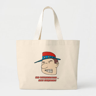 End Discrimination ... Hate Everybody! Tote Bags