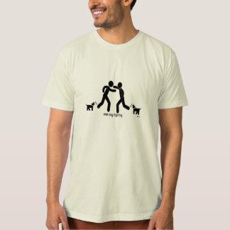"""end dog fighting."" t-shirt"
