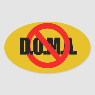 END DOMA - png Oval Stickers