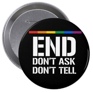 End Don't Ask Don't Tell Button