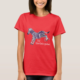 End Ehlers-Danlos Syndrome with Zebra T-Shirt