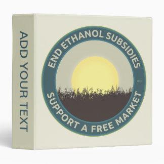 End Ethanol Subsidies Binder