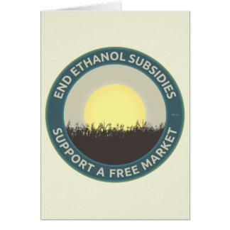End Ethanol Subsidies Card