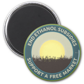 End Ethanol Subsidies Refrigerator Magnet