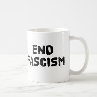End Fascism Coffee Mug